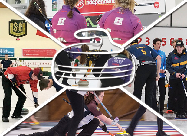 Elite Curling Collage